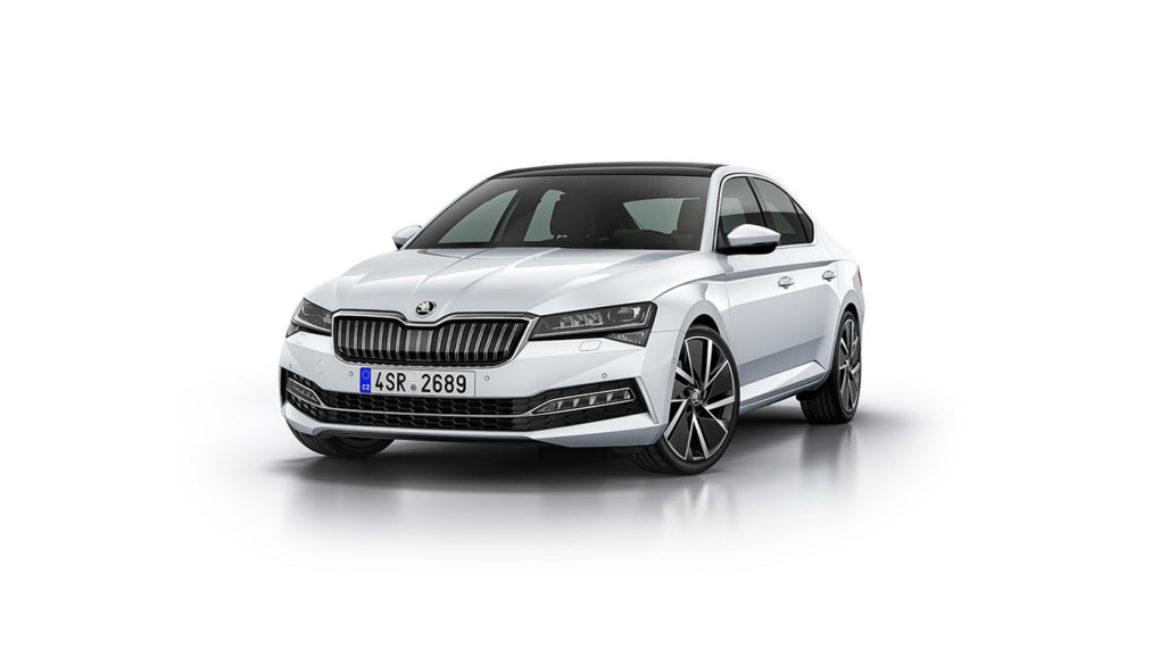 Nowa Škoda Superb iV