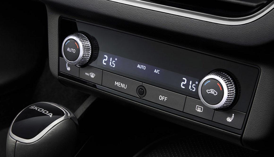 Czyszczenie klimatyzacji w autoryzowanym serwisie marki Škoda