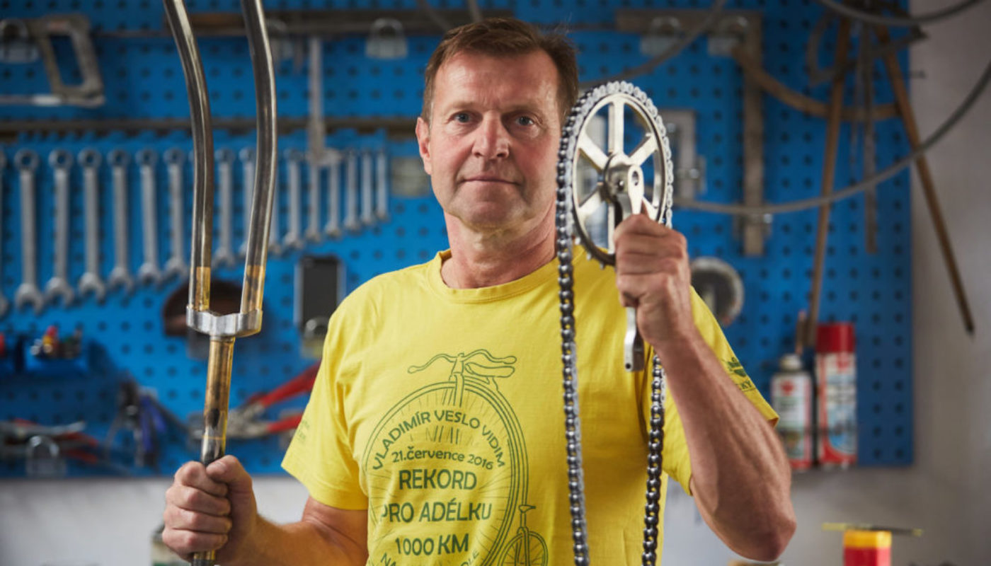 Rower SLAVIA 2019 Vladimír Vidim